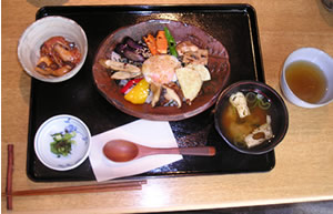 Japanese Lunch Set at Midorie