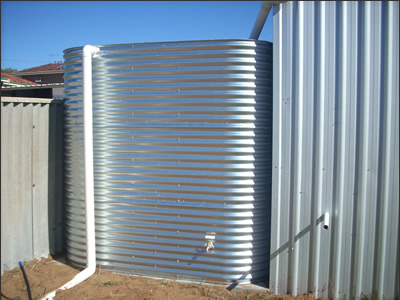 Greywater and Rainwater Tanks, Perth and Fremantle - Australia